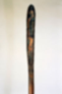"""""""Traditional Values"""" copper sculpture diptych by Paul Chepolis"""