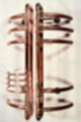 """Speak Truth to Power"" copper sculpture by Paul Chepolis"