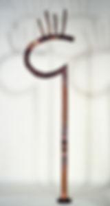 """Kill the Landlord"" copper sculptureby Paul Chepolis"
