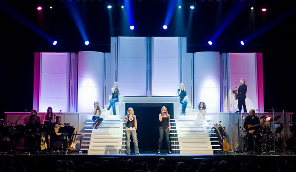Stage Set for Production Show