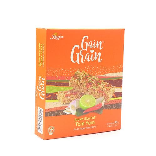 Gain Grain Tom Yum Brown Rice Puff