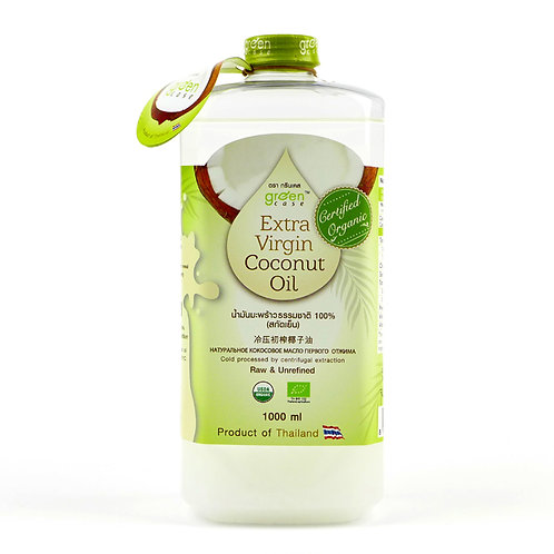 GREEN CASE Organic Extra Virgin Coconut Oil 1L