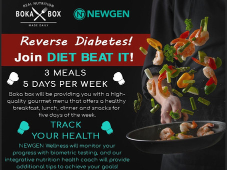 Reverse Diabetes with our NEW program!