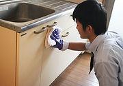 キッチンクリーニング 照明・棚の清掃