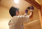 照明・換気扇の掃除