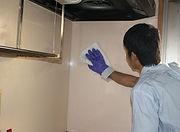 キッチンクリーニング 壁面クリーニング
