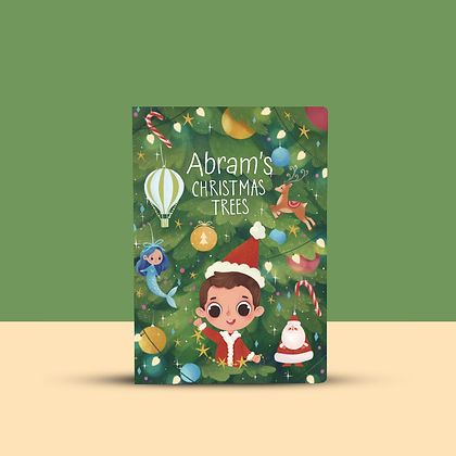 Christmas-Trees-Personalized-book