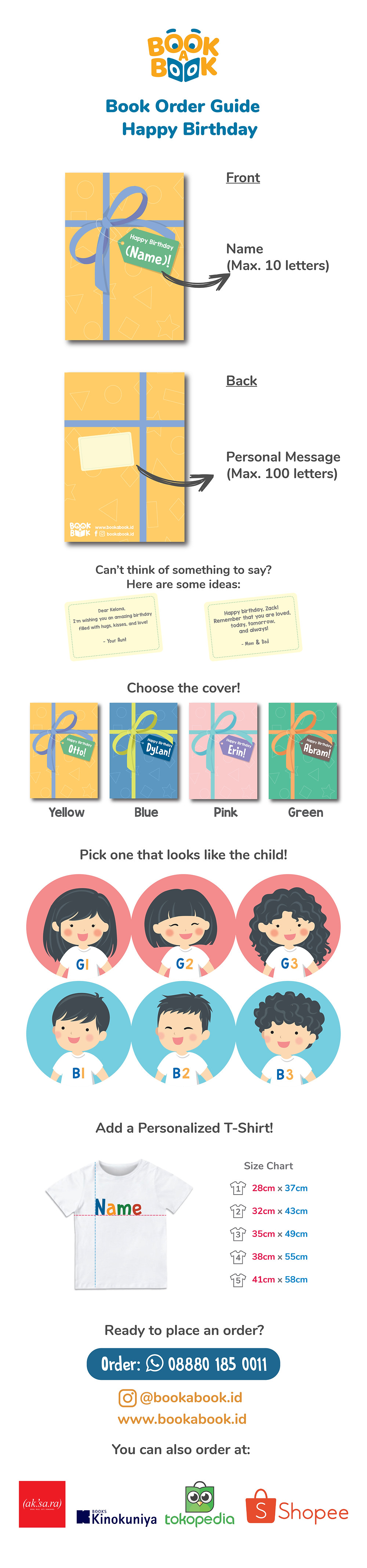 How to order Happy Birthday! book