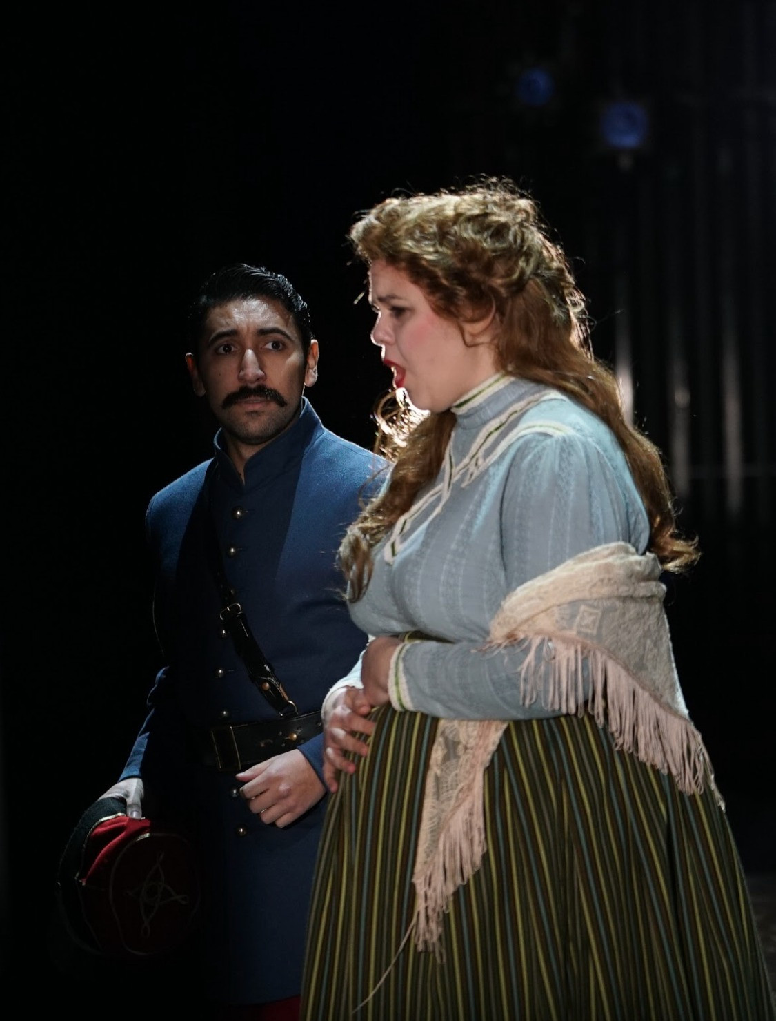 As Madeleine in Silent Night with Utah Opera. Photo by Kathleen Sykes