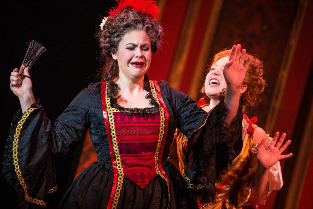 As Marcellina in Le nozze di Figaro