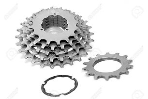 87525552-bicycle-chainrings-set-on-white