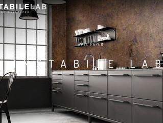 Uutta: Kosteutta ja puhdistusta kestävä Instabilelab -tapetti keittiön välitilaan ja kylpyhuoneeseen