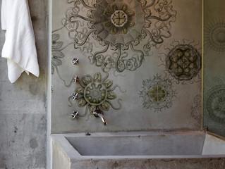 Medusae kylpyhuonetapetti