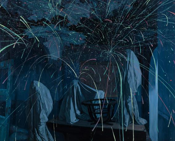 세 가지의 것. 2016. oil on canvas. 116.2 x 130.3 cm