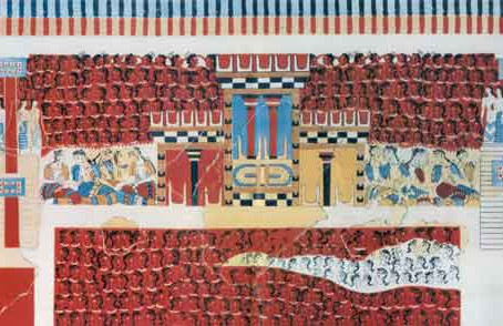 Palace of Knossos  Europe's oldest city !