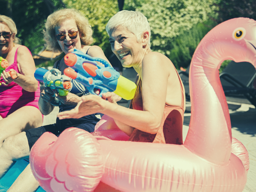 Top 10 Ways To Beat The Heat This Summer. Seniors Edition.