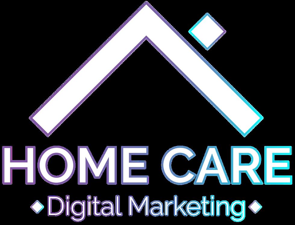Home Care Digital Marketing Logo White Footer