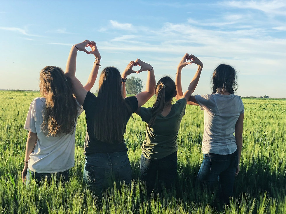 Women Bonding Outdoors after Successful Yoga Therapy Workshop in Philadelphia