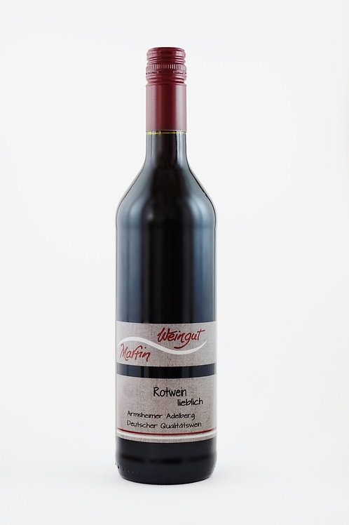 Rotwein lieblich