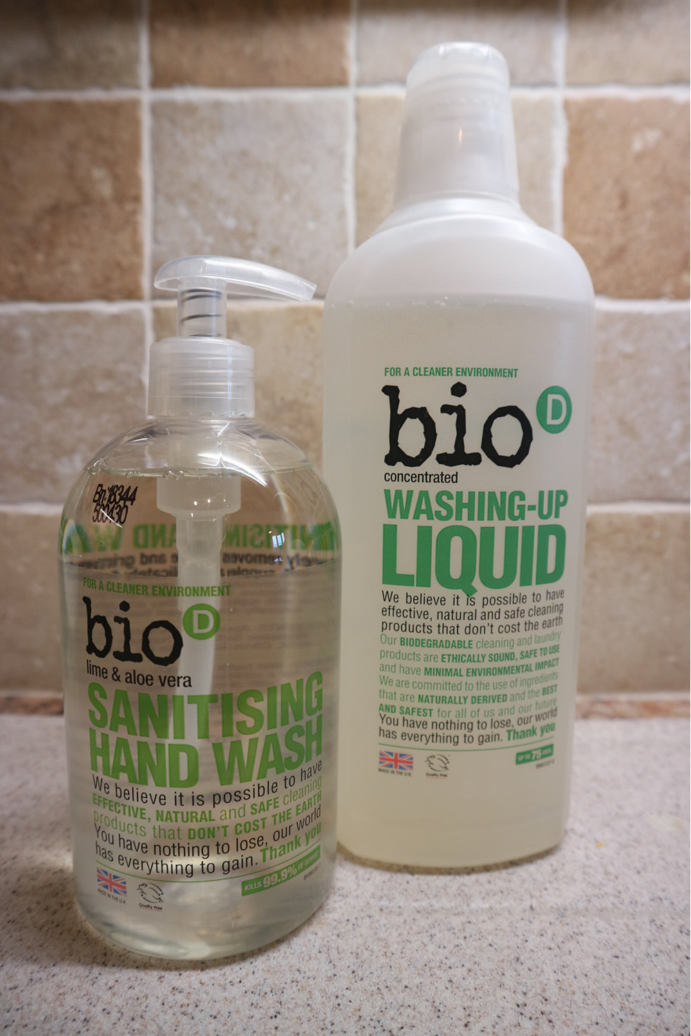Bio-D Cleaning Products