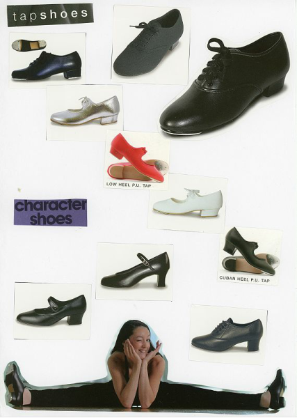 Tap and Character Shoes