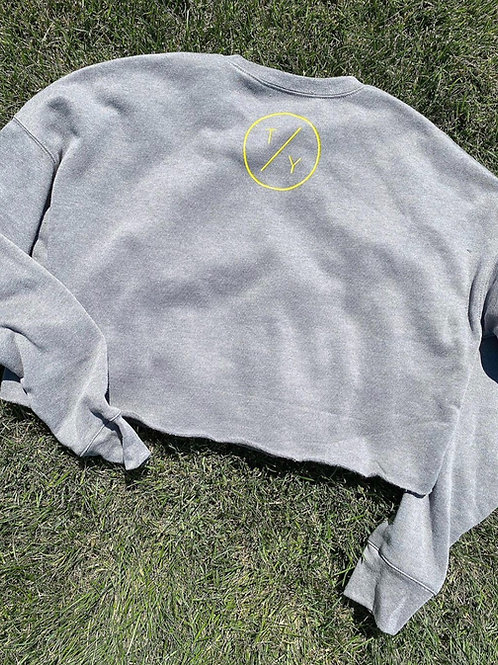 TY Cropped Crewneck