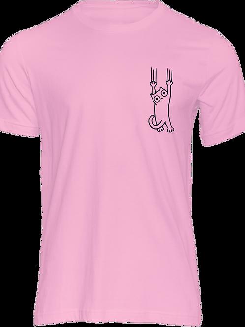 Camiseta Kittie Rosada