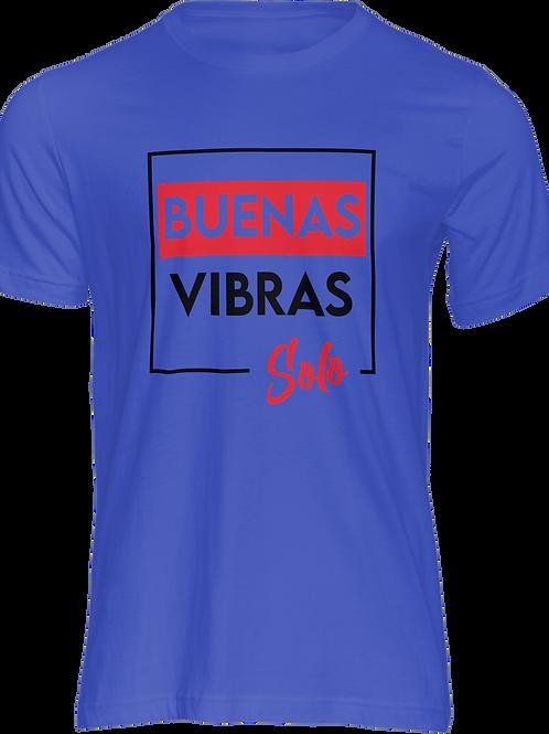 Camiseta Buenas Vibras Morado