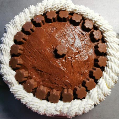 Leckere Milka - Torte