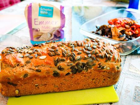 Leckeres Emmer Quark Brot