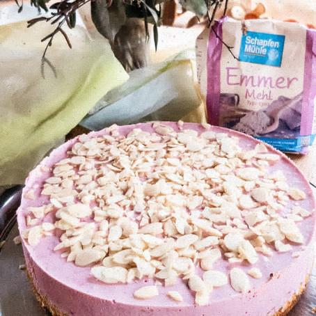 Himbeer Quark Kuchen low carb