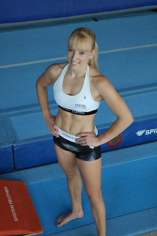 Janine Berger Turnerin Ulm Olympia