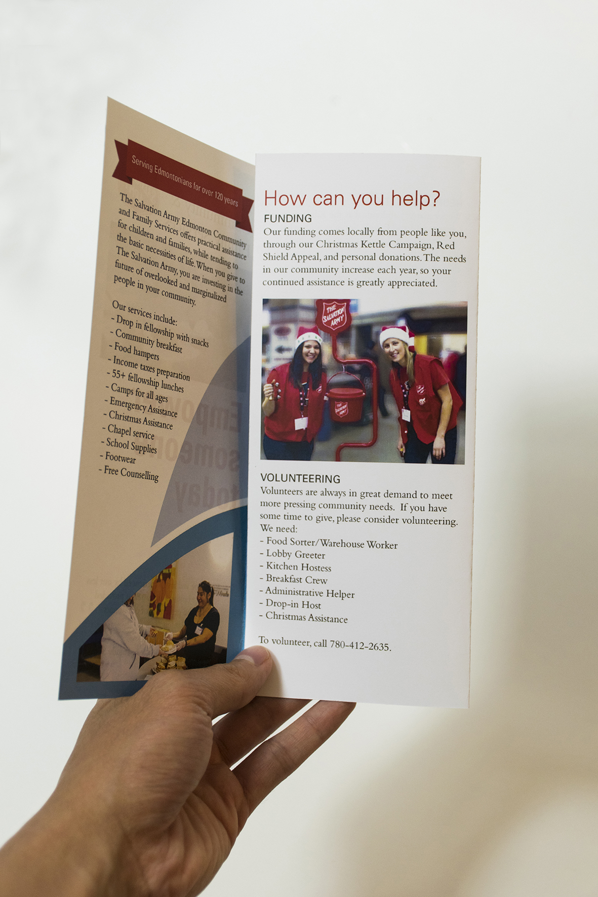 The Salvation Army Brochure Info
