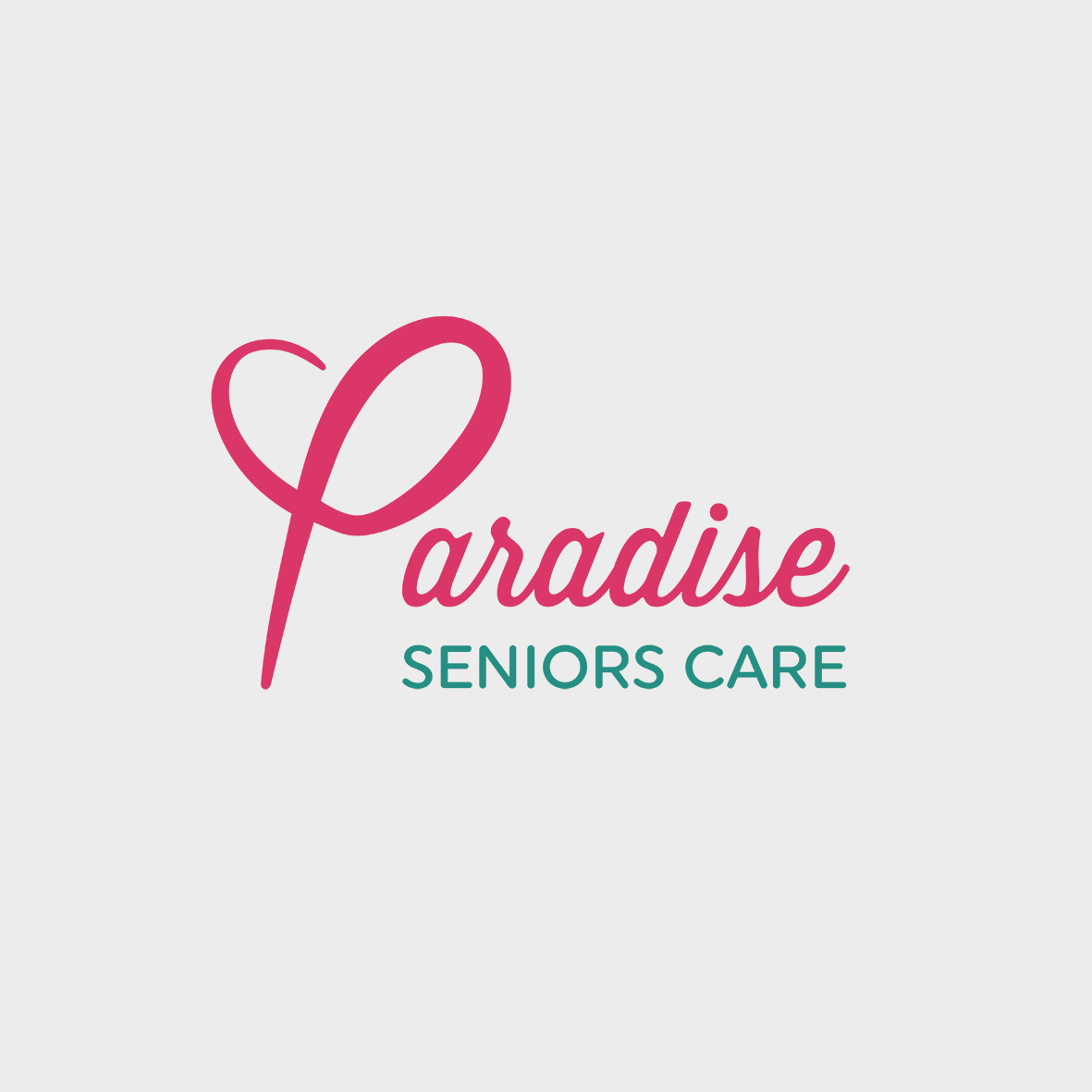 Paradise seniors care logo homepage