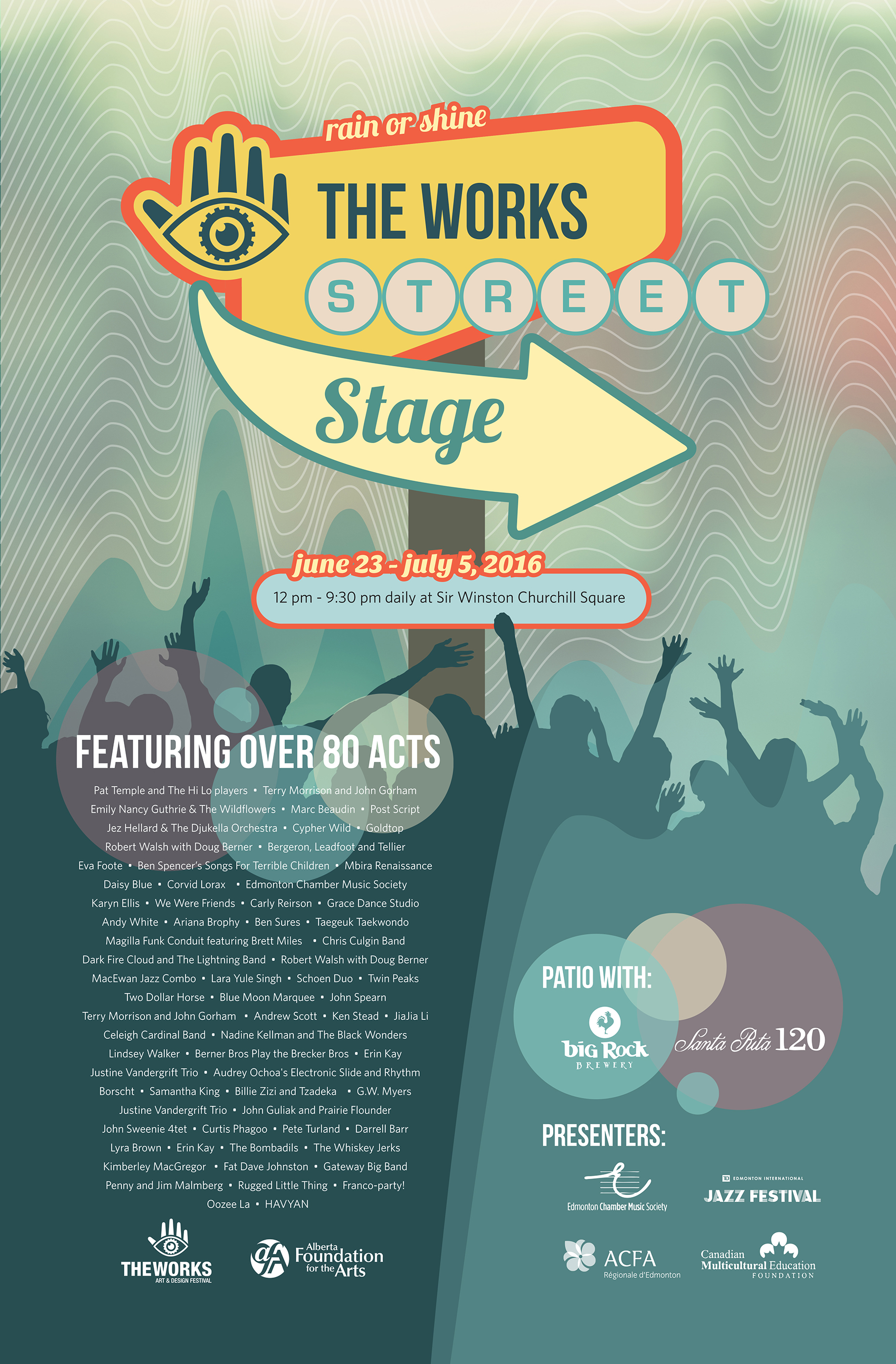 The Works Street Stage Poster 2016 - small