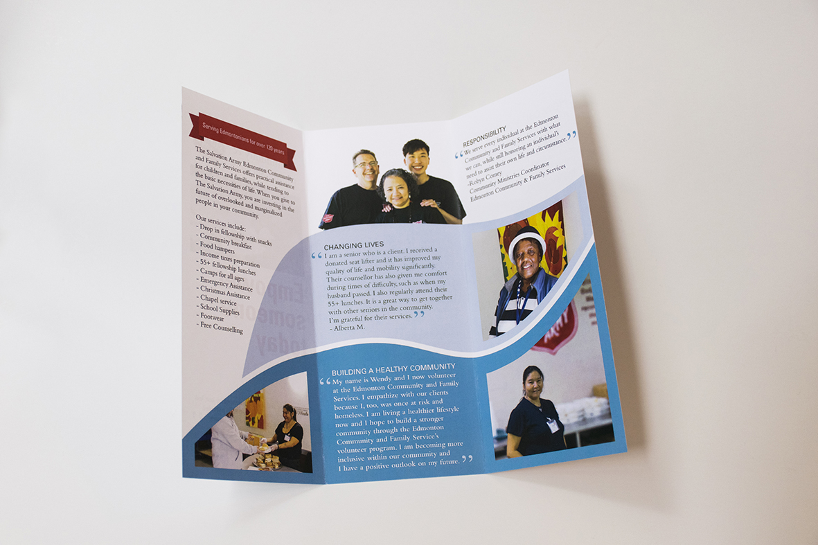 The Salvation Army Brochure Inside