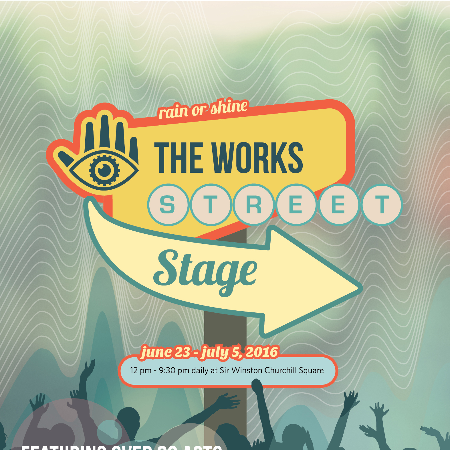 The Works Street Stage Poster 2016