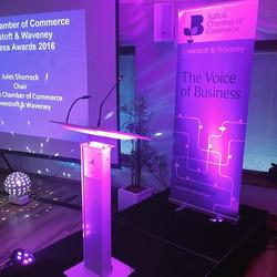 All ready to go! #suffolk #chamberofcommerce #awardsnight2016 #soundandlighting #corporateentertainm