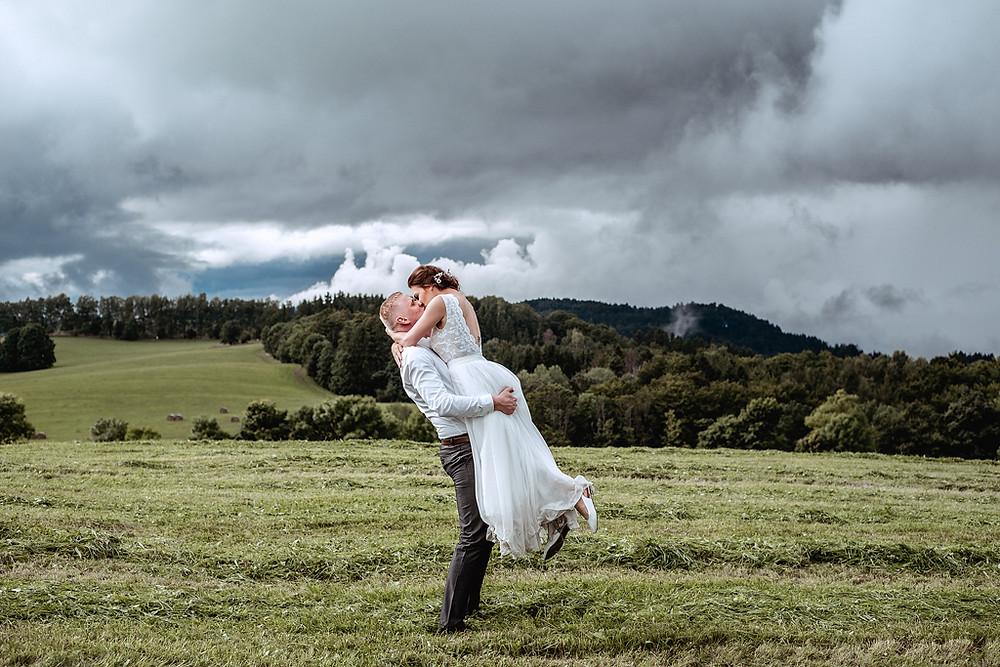 svatební focení v Orlických horách