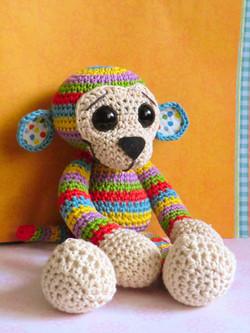 love crochet monkey