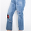 Thumbnail: Plus Size High Waist Straight Fit Jeans
