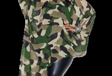 Masquerade Asymmetrical Top