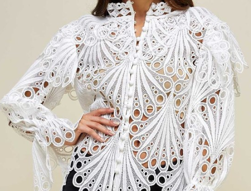 Crochet Lace Fashion Top