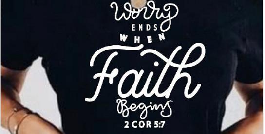 Faith Begins Tee