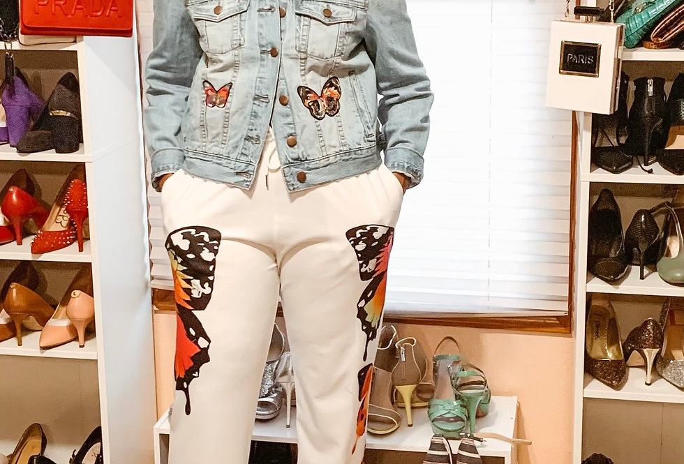 Denim Butterfly Jacket