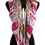 Thumbnail: Multicolor Paisley Patterned Silk Felt Twill Square Scarf