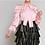 Thumbnail: Pink Puff Sleeve Blouse