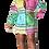 Thumbnail: Color Block Button Down Shirt Dress