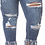 Thumbnail: Plus Size high Rise Jeans