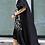 Thumbnail: Loose Fit Sequin Ruffle Dress